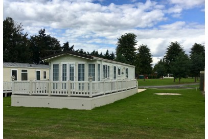 Bk Sheraton, 2 bed Sited Static Caravan 12 Month Plot