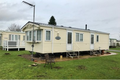 Willerby Granada 36x12,  Sited Static Caravan with decking..