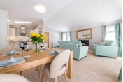 Brand New Omar Kingfisher Lodge 45x20 Full Residential Park home sited on a Brand new Full Residential Plot