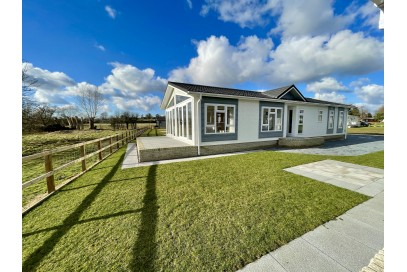 Brand New Omar Anniversary  50x22 Park home sited on a Brand new full Residential Plot